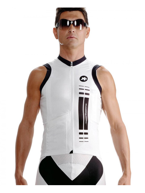 assos NS.superLeggera Jersey Men whitePanther
